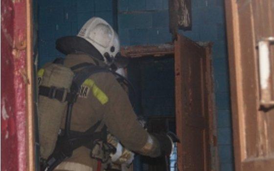 ВВязьме впожаре хозяин квартиры получил сильные ожоги