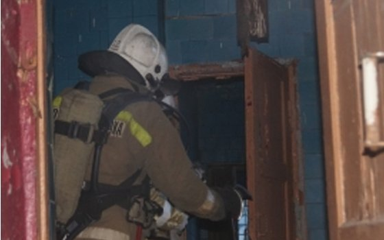 ВВязьме впроцессе пожара едва не умер мужчина 43-х летнего возраста