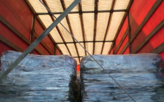 Российская Федерация развернула награнице неменее тонны продукции «Бабушкиной крынки»
