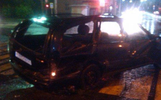 5 авто столкнулись наперекрестке вСмоленске