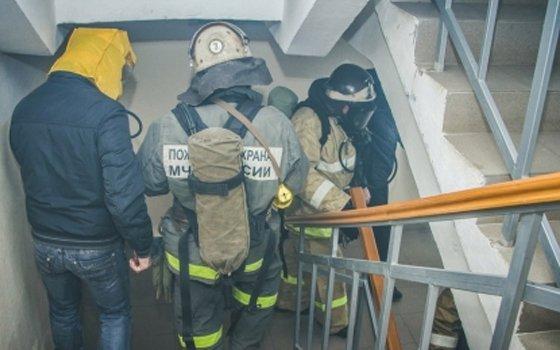 ВСмоленске вмикрорайоне Южном тушили квартиру