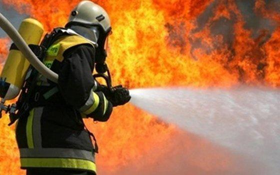 ВСмоленской области мужчина живьем сгорел в своем доме