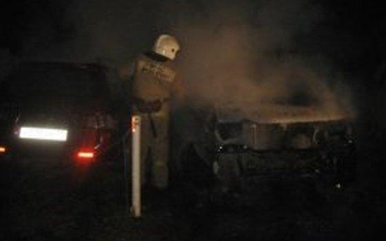 ВСмоленской области на«Москва-Минке» сгорел автомобиль