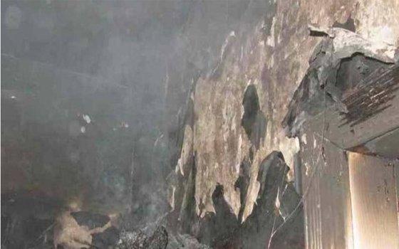 ВСмоленске едва несгорела квартира