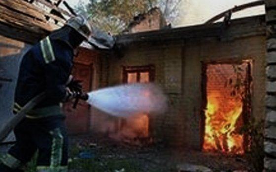 ВСмоленске зажегся строящийся дом