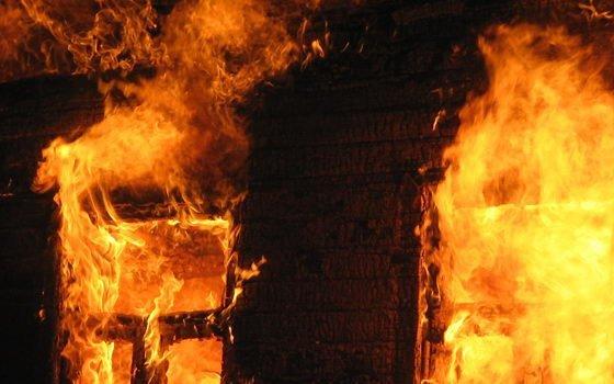 ВТамбовской области впожаре умер мужчина
