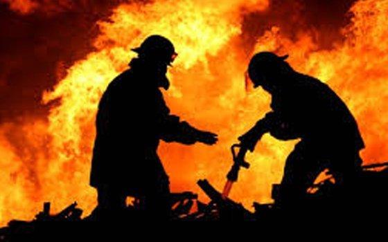 ВЯрцеве огнеборцы спасали дом, гараж иавтомобиль