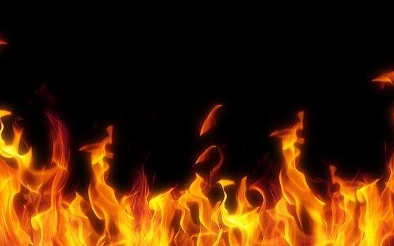 ВРуднянском районе врезультате сильного возгорания обгорел человек