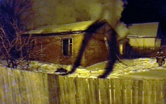 ВСмоленской области при пожаре живьем сгорели два человека