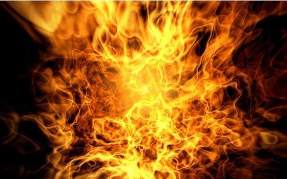 Женщина иеесын погибли впожаре вСмоленске