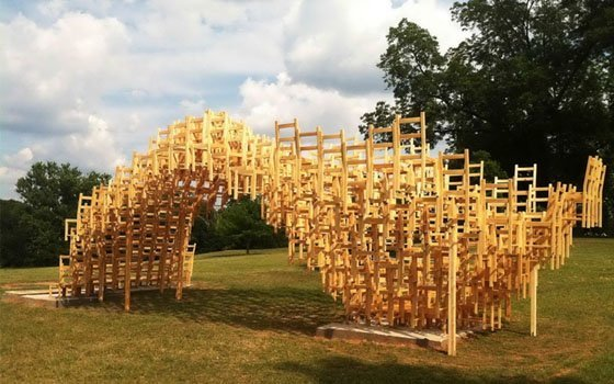 Смоляне вДень города смогут сделать нанабережной арт-объекты издерева