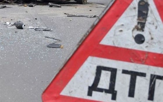 Инцидент наВитебском шоссе вСмоленске. Женщина угодила под иномарку Renaut