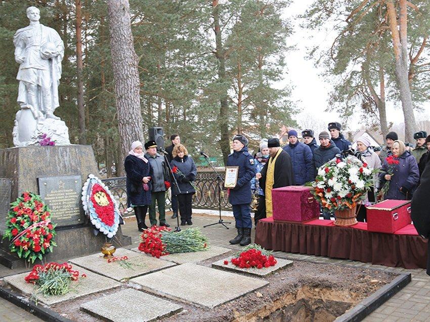 Их имена в вечности.   Два бойца Великой Отечественной вернулись домой