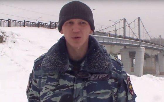 В Смоленске полицейский вытащил утопающего мужчину из реки Днепр