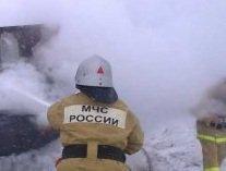 В Новодугинском районе сгорел автомобиль ВАЗ