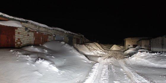 На улице Лавочкина в Смоленске демонтируют гаражи