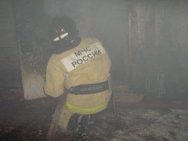 На улице Урицкого в Смоленске ночью горела квартира