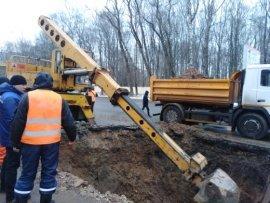 В Сафоново почти 3000 человек остались без холодной и горячей воды в результате коммунальной аварии