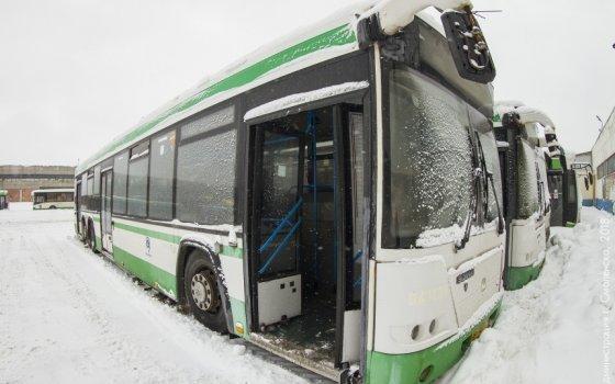 В Смоленск прибыла новая партия пассажирских автобусов из Москвы