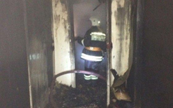 В Смоленске 8 спасателей выезжали на возгорание квартиры на Соболева