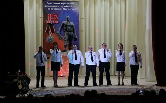 О Родине, о подвиге, о славе. В Духовщинском районе прошел фестиваль патриотической песни