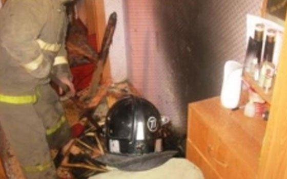 В Вязьме во время возгорания в квартире погиб мужчина