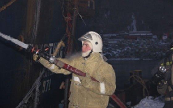 В Вязьме на пожаре заживо сгорела 70-летняя женщина