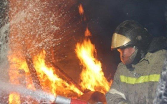 В деревне Михейково произошел пожар