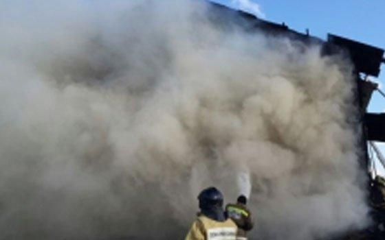 Огнеборцы выезжали на возгорание в село Шарапово