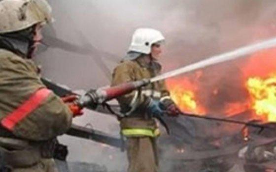В деревне Капустино на пожаре пострадал один человек
