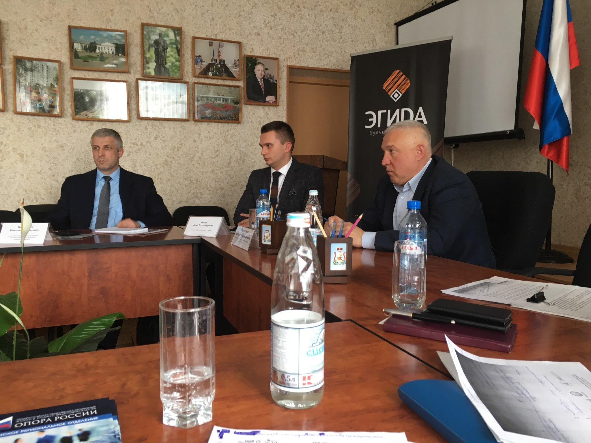 Смоленскэнерго рассказало бизнесменам Сафоновского и Дорогобужского района о технологическом присоединении