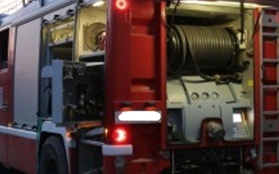 В Десногорске огнеборцы тушили трактор