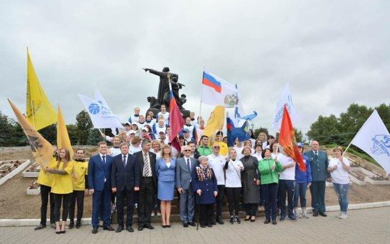 Сотрудники Смоленскэнерго приняли участие в Военно-патриотическом марафоне к 75-летию Великой Победы