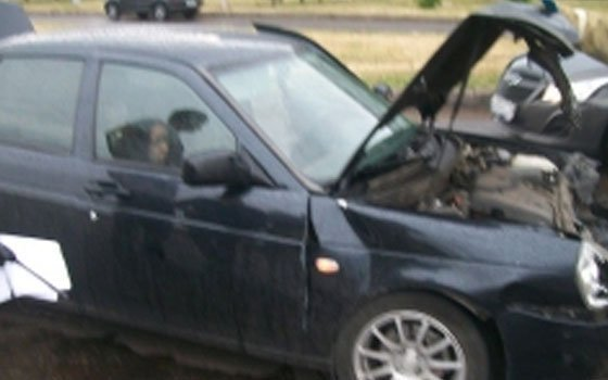 На Киевском шоссе в Смоленске случилось ДТП с легковушкой