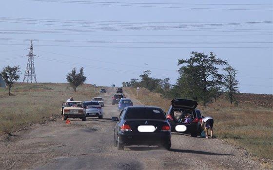 Смоленского автомобилиста напугала дорога от Витебского шоссе