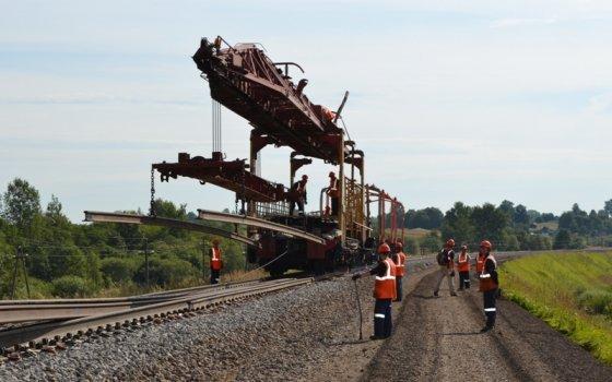В Смоленском регионе МЖД проходит завершающий этап летней ремонтно-путевой кампании
