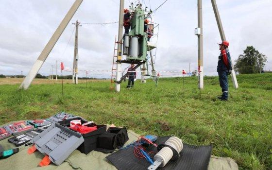 Смоленскэнерго приняло участие в совместной противоаварийной тренировке энергетиков России и Республики Беларусь
