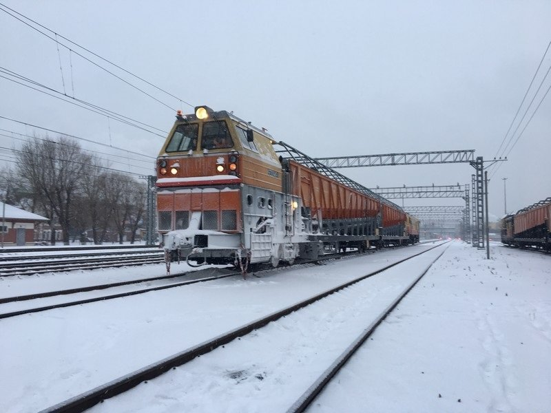 Железную дорогу в Смоленской области готовят к работе зимой