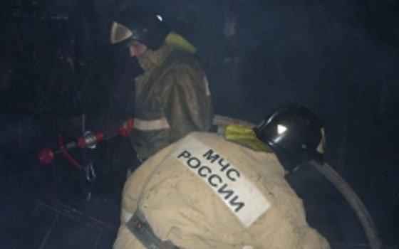 В Вязьме и селе Мачулы произошли пожары
