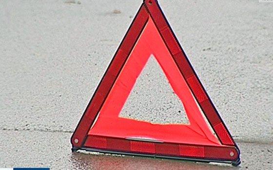 На Станционной в Смоленске автоледи опрокинулась в придорожный ров