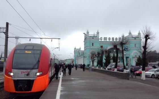 С 1 ноября пара «Ласточек», курсирующая между Москвой и Смоленском, стала премиальной