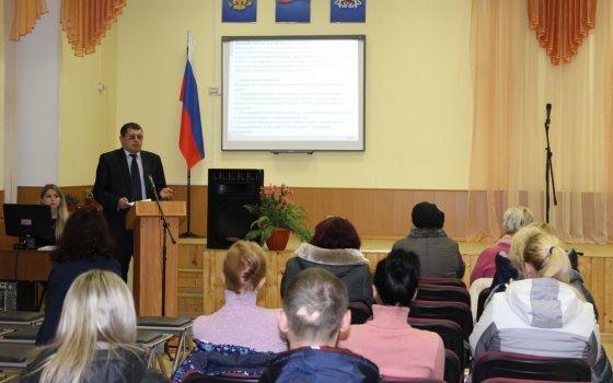 Железнодорожники провели урок по безопасности для детей и их родителей в школе города Смоленска