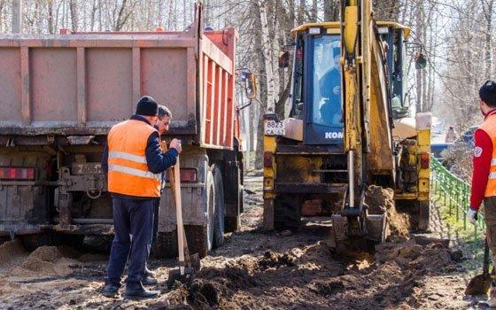 На Попова в Смоленске стартовал ремонт