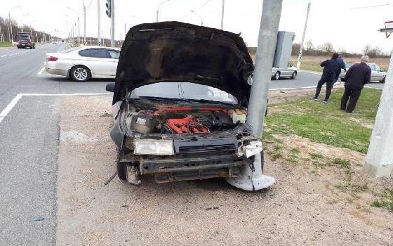 В результате ДТП в Смоленске оба водителя получили травмы
