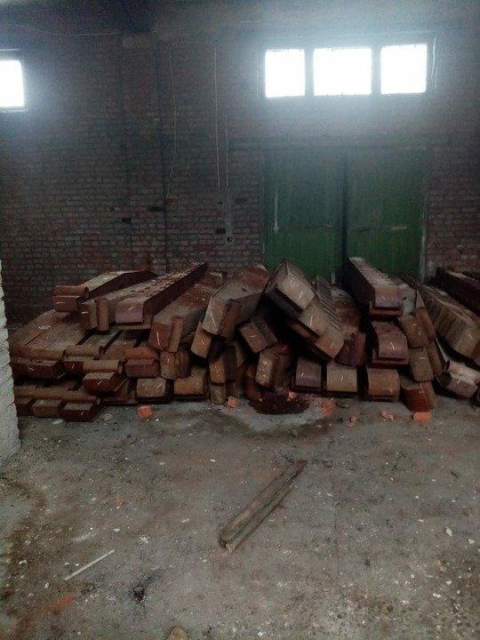 В Смоленске за кражу 600 кг железнодорожных деталей перед судом предстанут трое местных жителей