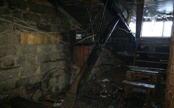 В Смоленске из-за пожара эвакуировали 8 человек