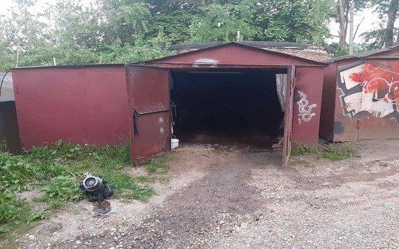 В Смоленске загорелся гараж