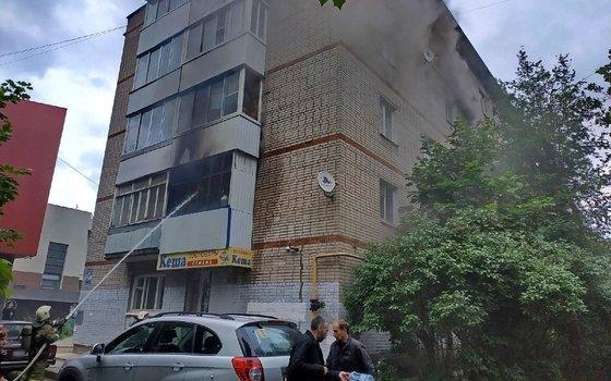 В Смоленске сын поругался с матерью и поджог квартиру