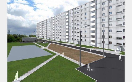 В Смоленске отремонтируют двор на улице Николаева 19