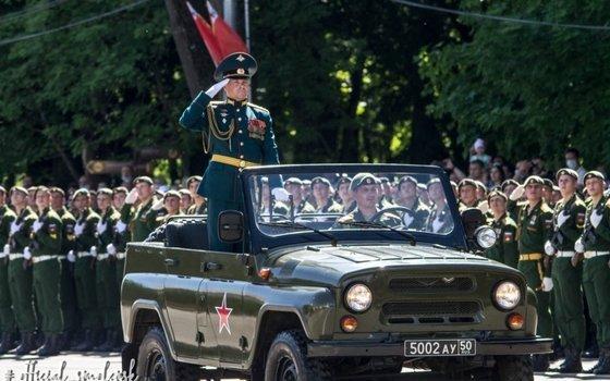 В Смоленске прошел парад в честь 75-летия Победы
